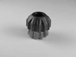 Kleine ronde borstel staal