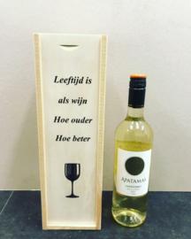 Wijn-Bierkistje Leeftijd