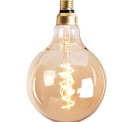 Lichtbron Rond goud 15cm
