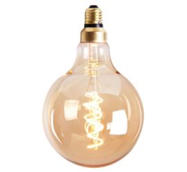 Lichtbron Rond goud 12,5cm