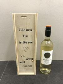 Wijn-Bierkistje The best wine Friends