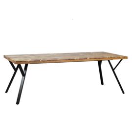 Eettafel Metri acaciahout 230 x 100 cm