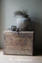 Unieke authentieke houten Chinese kist