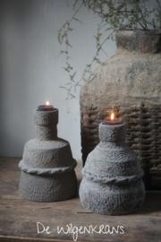 Waxinekandelaar May no. 1 | Nepal Pottery (links)