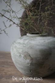 Kleine oude Chinese kruik pot