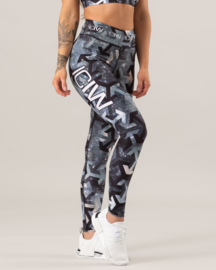 ICANIWILL MAZE SHINE FITNESSLEGGING (COMPRESSION)