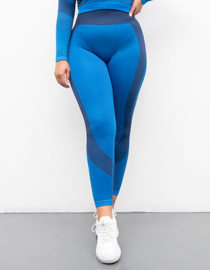 SEAMLESS FITNESSLEGGING BLUE/NAVY