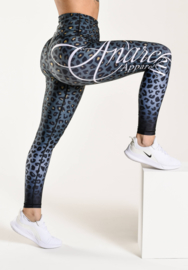 ANARCHY APPAREL LEOPARDESS LEGGING GREEN/BLACK