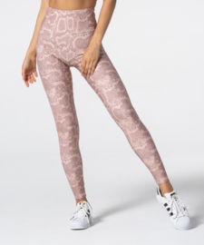 CARPATREE  HIGHWAIST LEGGING BEIGE SNAKE