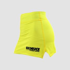 SIX DEUCE GYM SKIRT YELLOW