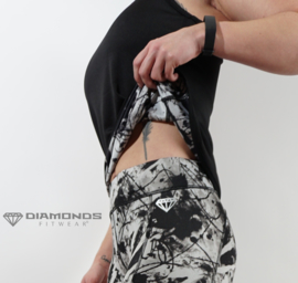 DIAMONDS FACETTE TANKTOP