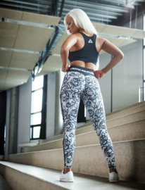 CRITICAL PUMP FLORAL FITNESSLEGGING