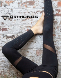 DIAMONDS EMPRESS LEGGING