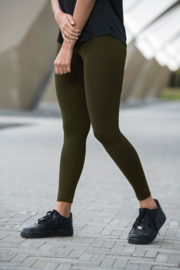 COMPRESSION FITNESSLEGGING ARMY GREEN