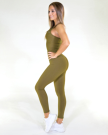 GAVELO POP ARMY GREEN FITNESSLEGGING