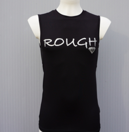 DIAMONDS SLEEVELESS TEE ROUGH