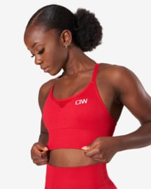 ICANIWILL DYNAMIC SEAMLESS SPORTTOP DEEP RED