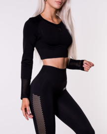 ICANIWILL DYNAMIC SEAMLESS BLACK LEGGING