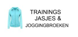 TRAININGSJASJES & JOGGINGBROEKEN