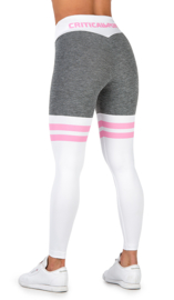 CRITICAL PUMP SPLIT - BABY PINK FITNESSLEGGING