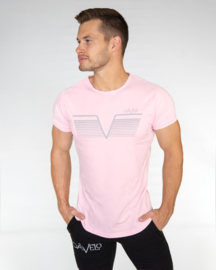 GAVELO SPORTS TEE STEEL PINK