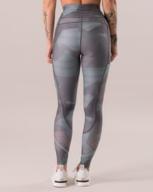 ICIW MINT CAMO FITNESSLEGGING (COMPRESSION)