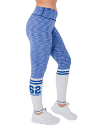 SIX DEUCE SOX ROUGH BLUE/WHITE FITNESSLEGGING