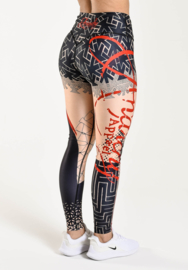ANARCHY APPAREL TRASH POLKA FITNESSLEGGING (COMPRESSION)