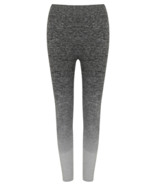 SEAMLESS FITNESSLEGGING FADE OUT GREY MELANGE