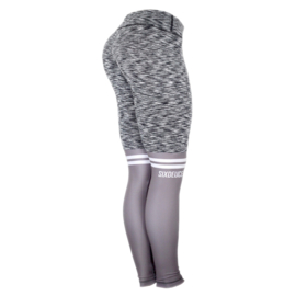SIX DEUCE KNEESOX ROUGH GREY/GREY FITNESS LEGGING
