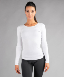 CARPATREE O-NECK LONGSLEEVE WHITE
