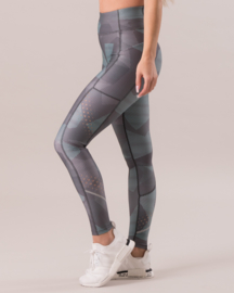 ICANIWILL MINT CAMO FITNESSLEGGING (COMPRESSION)