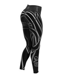 GAVELO LIQUORICE FITNESS LEGGING (COMPRESSION)