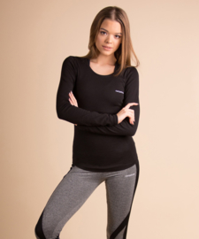 CARPATREE O-NECK LONGSLEEVE BLACK