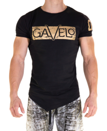 GAVELO SPORTS TEE BLACK GOLD