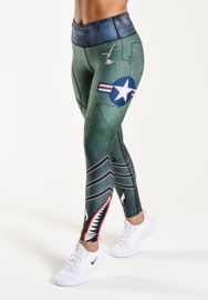 ANARCHY APPAREL BOMBER LEGGING (COMPRESSION)