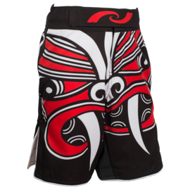MMA SHORTS KIDS BLACK MANAIA