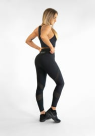 GAVELO MESH BLACK SWIRL SET (LEGGING & TOP)
