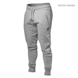 BETTER BODIES TAPERED JOGGERS GREYMELANGE