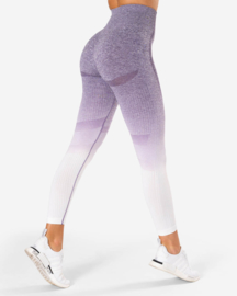 ICANIWILL OMBRE PURPLE SEAMLESS FITNESSLEGGING