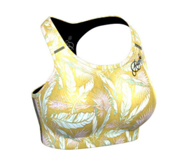 ANARCHY APPAREL CLOVERFIELD SPORTTOP YELLOW/GOLD