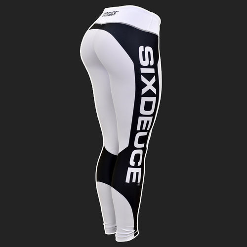 SIX DEUCE BEATMODE BLACK/WHITE FITNESSLEGGING
