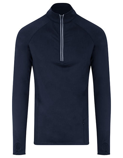 DRI-FIT LONGSLEEVE 3/4 ZIP NAVY BLUE
