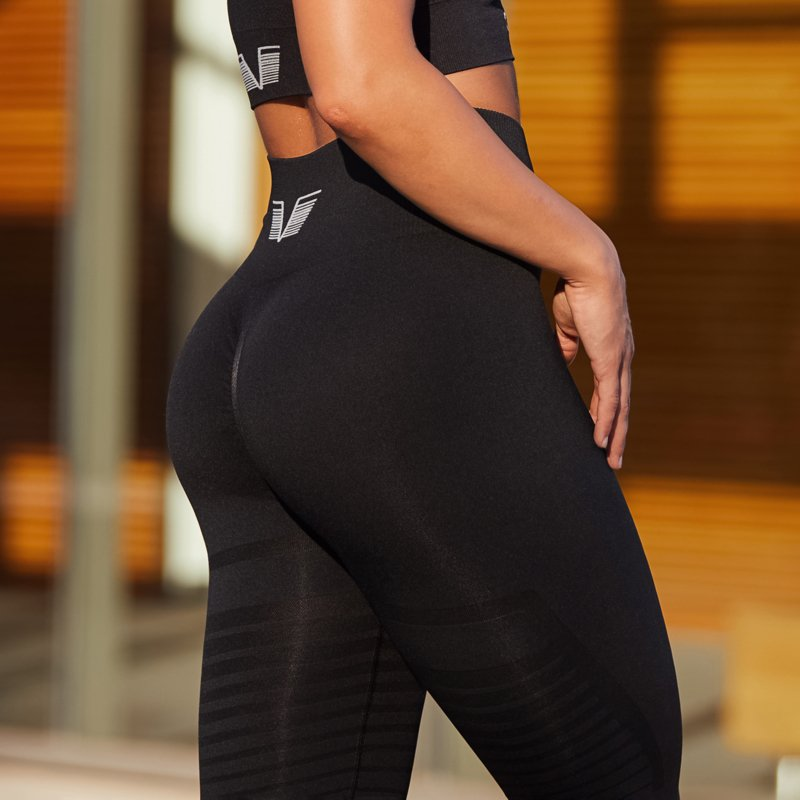 GAVELO SEAMLESS BLACK LEGGING