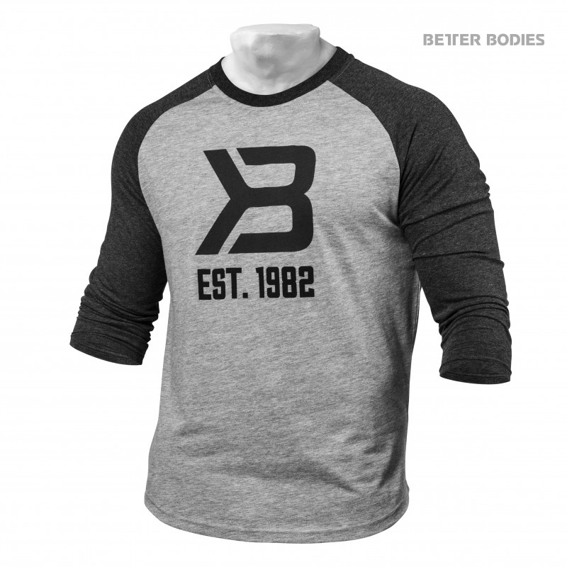BETTER BODIES MENS BASEBALL TEE
