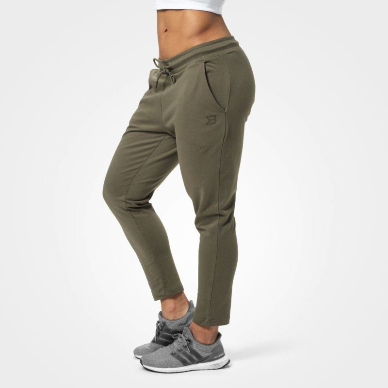 BETTER BODIES ASTORIA SWEATPANTS WASHED GREEN