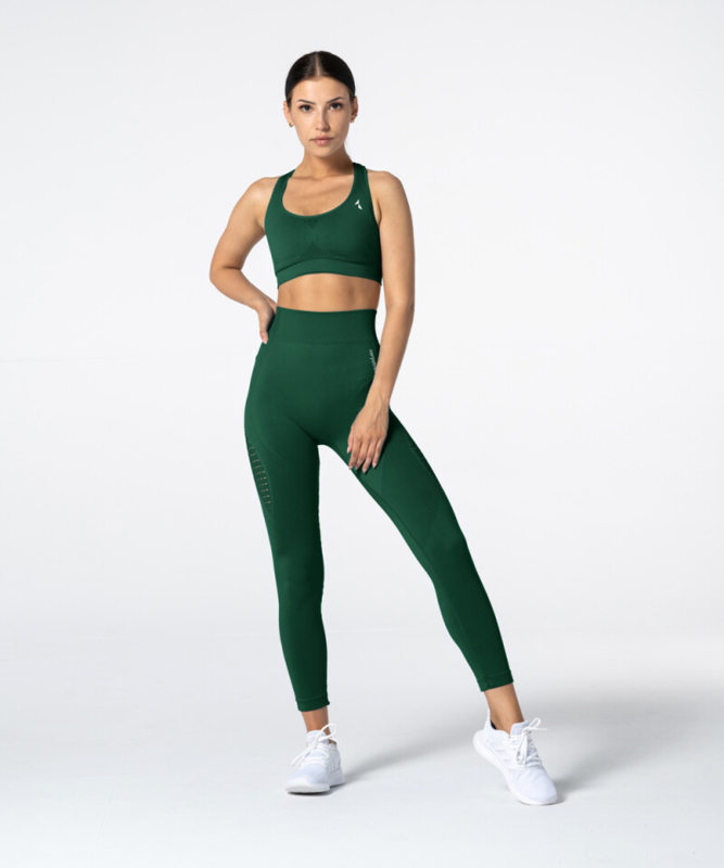 CARPATREE PHASE SEAMLESS SPORTTOP BOTTLE GREEN
