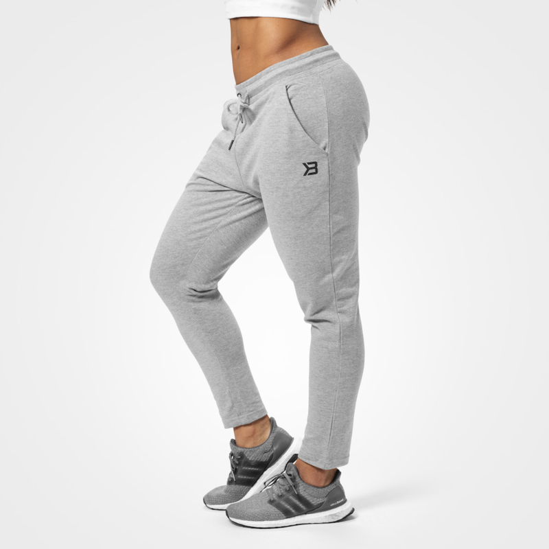 BETTER BODIES ASTORIA SWEAT PANTS GREY MELANGE