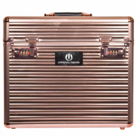 Imperial Riding grooming box classic Rosegold