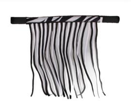 QHP vliegenfrontriem Zebra